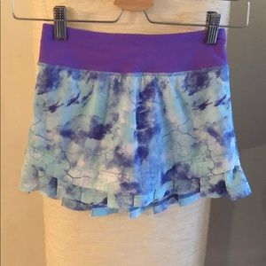 Ivivva skort with built in shorts